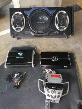 Audio Sonido para carro Pioner todo