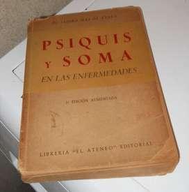 Psiquis y Soma en las enferemedades Isidro Mas de Ayala