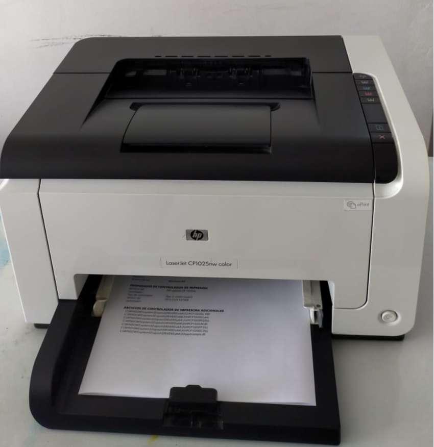 Impresora LASER COLOR - HP LASERJET PRO CP1025NW COLOR