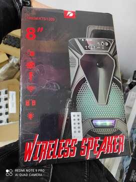 Parlante de 8 pulgadas con micro recargable gran calidad de sonido Bluetooth