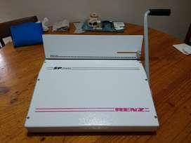 Anilladora Renz Sp2000 Muy Poco Uso