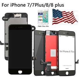 Para iPhone 8 Plus Pantalla LCD Pantalla Táctil Digitalizador Ensamblaje Sustitución