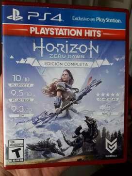 JUEGO HORIZON EDICION COMPLETA PS4 S/.40 Soles