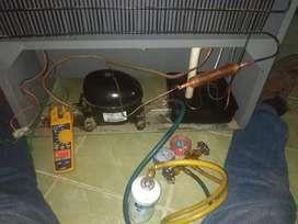 Tecnico de Neveras Nevecones panorámicas dispensadores de agua lavadoras y Aires acondicionados