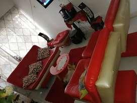 Vendo juego d sala reclinable