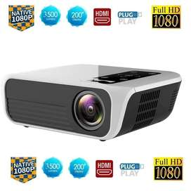 Proyector Video Beam LED FullHD 1080p Nativo 4500lumenes Portable Ultra Liviano - 0333
