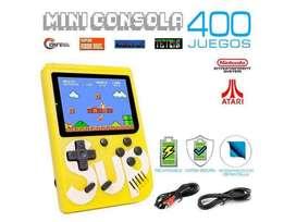 Mini Consola Sup Retro 400 In 1 Con Control Player Ii Game COLOR AMARILLO