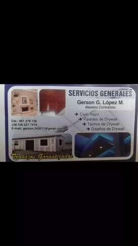 DRYWALL - ELECTRICIDAD - PINTURA EN GENERAL