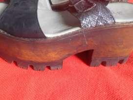 Sapato.super.nuevo sin uso..nuro 37
