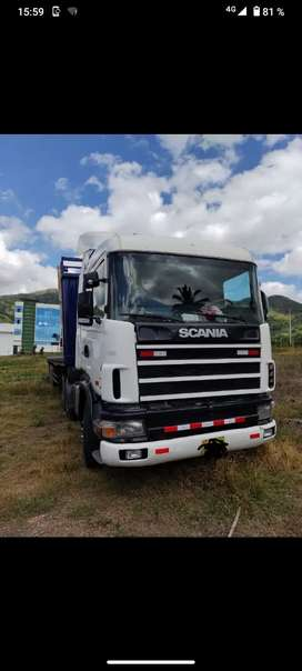 Se vende semi trailer Scania precio a tratar
