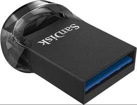 Memoria Usb 3.1 Sandisk Ultra Fit Micro 64gb 130mb/s