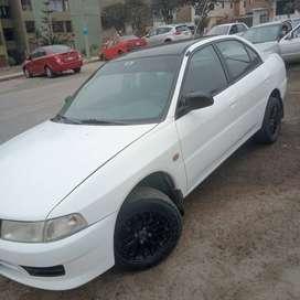 Vendo Mitsubishi en perfecto estado 1999,uso exclusivo particular,dual gasolina-glp, transmisión mecánica. 14,500 soles.
