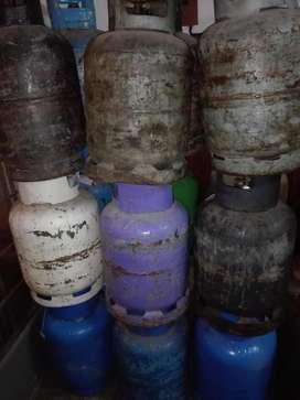 Garrafas de 10 kg llenas 3500/VACIAS 3200