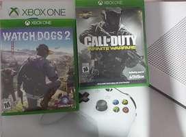 Los cambio por otros juegos  watch dogs 2 esta usado el call of duty esta nuevo son originales