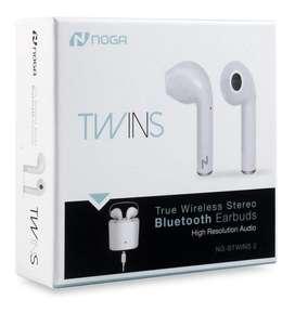 Auriculares NOGA Bluetooth TWINS Versión 2