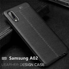 Estuche Forro Funda Case Tipo Cuero Samsung Galaxy A02