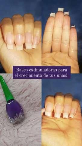 Bases súper recomendadas para que tú uñas te crezcan en pocos dias