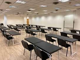 Alquiler salas desde 80 metros hasta 220 metros cuadrados