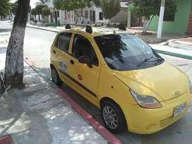 Se vende taxi Chevrolet Spark año 2014