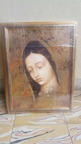 Cuadro Virgen de Guadalupe 40x50
