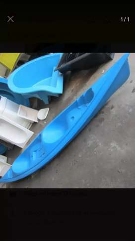 Kayak Doble de Fibra de vidrio c/ 2 palas doble