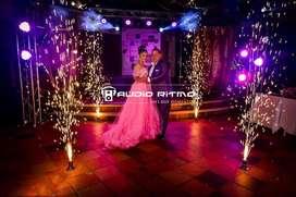 Volcanes Efectos Especiales para boda o quince años en Villavicencio