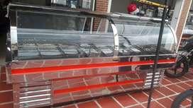 Venta de góndolas en acero todas las medidas bajo consumo