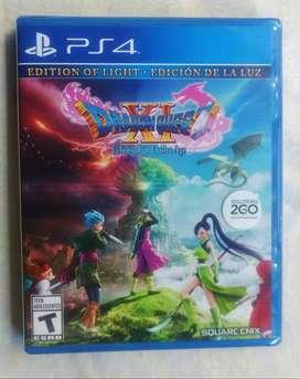 Dragon Quest XI: Echoes of an Elusive Age Edition of Light Playstation 4 Nueva y Sellada
