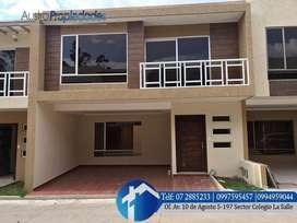 CHALLUABAMBA - casa en venta en cuenca con 4 dormitorios