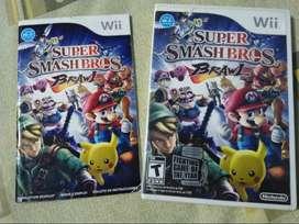 Smash Bros Brawl para Wii o Wii U