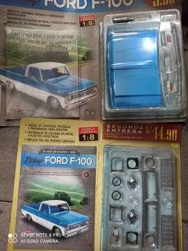 Fascículo de auto a escala FORD F100