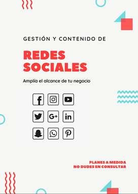 Gestión y Contenido de Redes Sociales