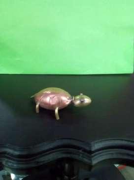 Tortuga en cobre