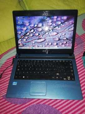 Portátil Acer core i5 8 GB de ram