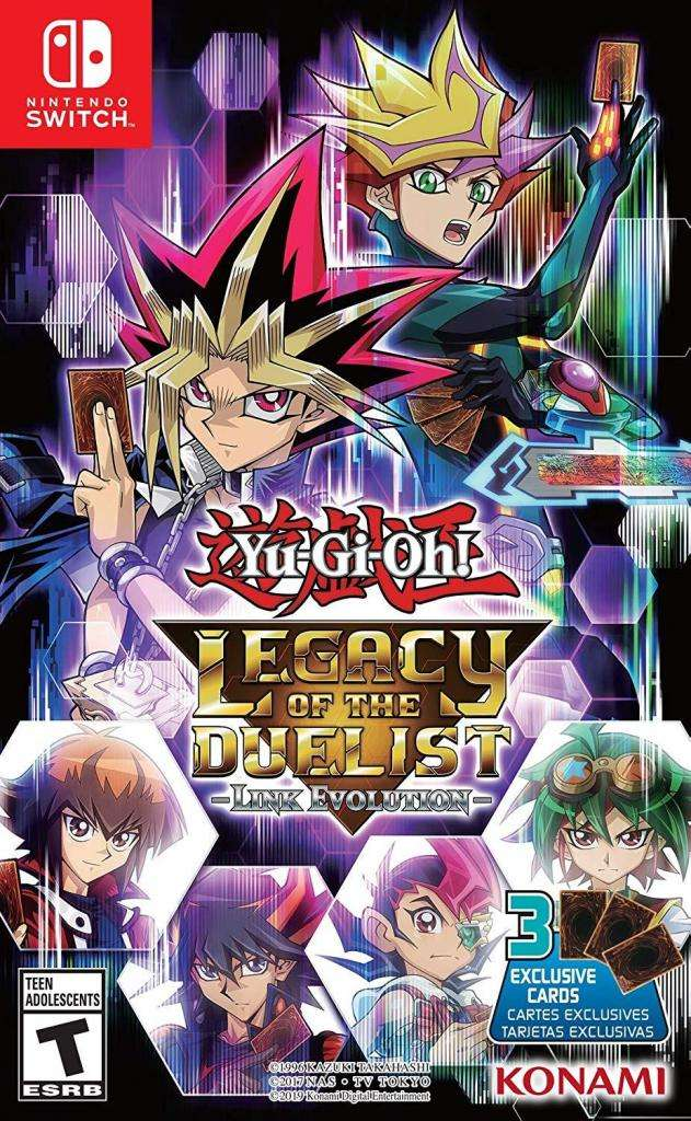 Yu-gi-oh Legacy Of The Duelist Link Evolution Switch