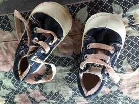 Zapatillas Jeans Bordadas