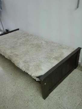 Cama sillón sofá de 1 Plaza con Colchon