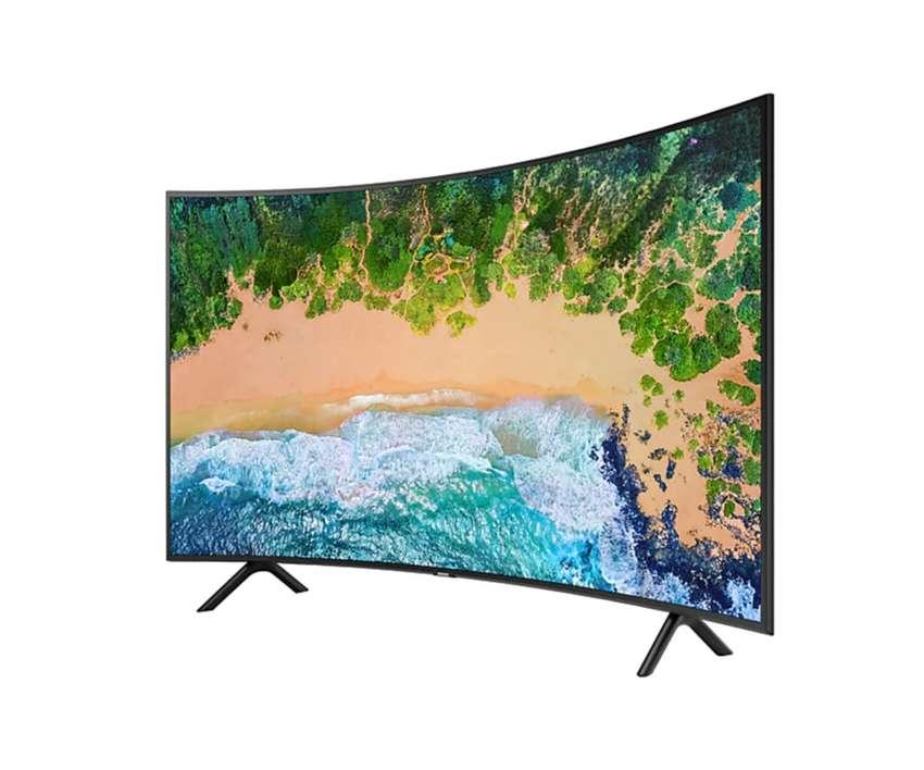 """Samsung Smart TV 55"""" Pulgadas NU7300 - 2019 Curvo Smart 4K UHD Original, Grantía, Tienda Oficial Samsung 0"""