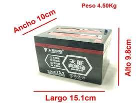 Baterías para Bicicletas, Scooter y motos eléctrica nuevas de plomo grafeno Tianneng!!!