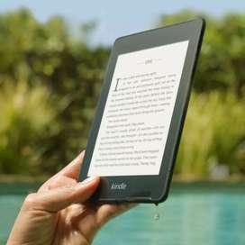Kindle Paperwhite 10. Nuevo. 8GB. Última Generación. A prueba de agua. Con estuche.