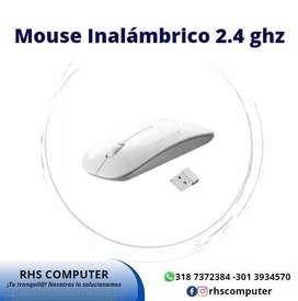 Mouse Inalambrico Ultra Delgado 2.4ghz