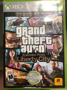 Grand Theft Auto Libercity City Xbox 360