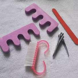 Kit personal para uñas manicure y pedicure 5 piezas