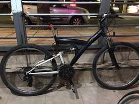 Bicicleta R26 Doble Suspension Shimano