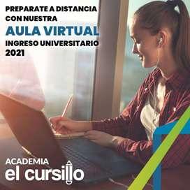ACADEMIA EL CURSILLO. INGRESO UNIVERSITARIO ONLINE