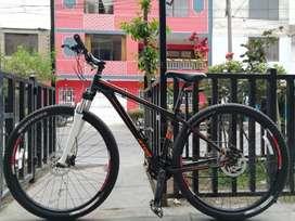 Bicicleta montañera Atom Burner 29 aluminio original