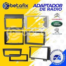 ADAPTADORES DE RADIO CITROEN LANDROVER PEUGEOT BETAFIX DESDE