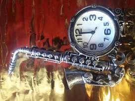 Reloj Despertador Alarma  Saxofón Música Rock Original