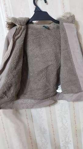 Campera Zara abrigo.