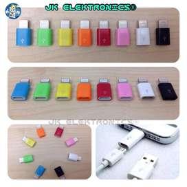 Adaptador iPhone 5,6 8pin-V8 Micro Usb Practicos